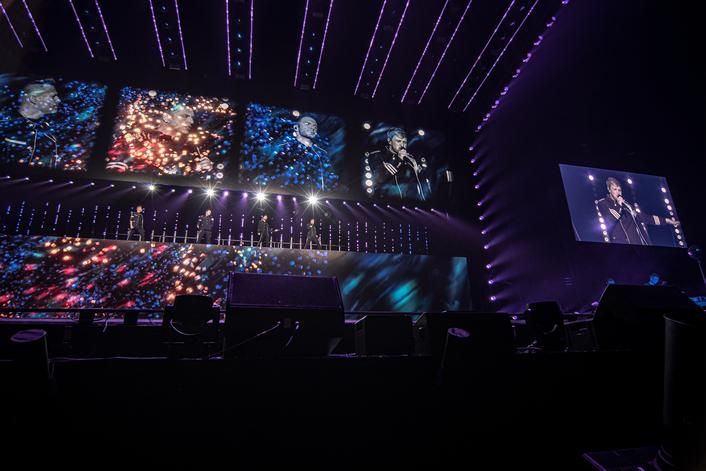 Westlife's The Twenty Tour Uses Blackmagic Design Live Solution