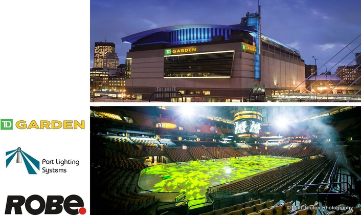 Robe BMFL Blades & Pointes for  TD Garden Installation