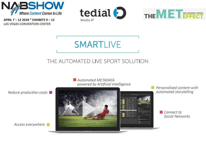 Tedial's New SMARTLIVE Marries AI to MAMs for Elevated  Storytelling and Increased Fan Engagement in Sports Production