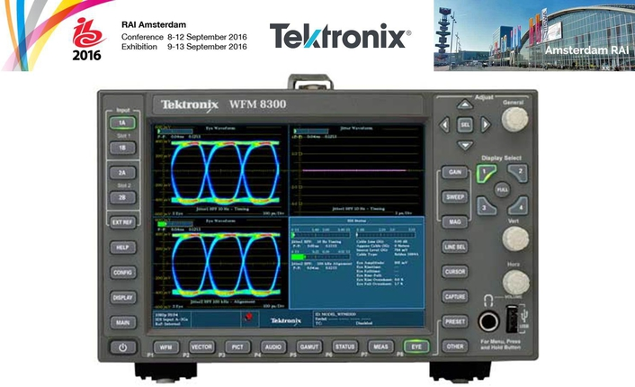 Tektronix Brings New HDR and WCG Support to Industry Leading Waveform Monitors