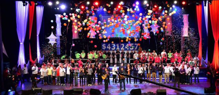 Clay Paky Scenius Gives New Looks to 40th Anniversary Broadcast of Saskatchewan's Telemiracle Telethon