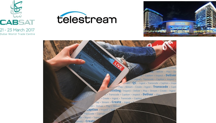 Telestream Offers Strategic Direction for MENA Region at CABSAT
