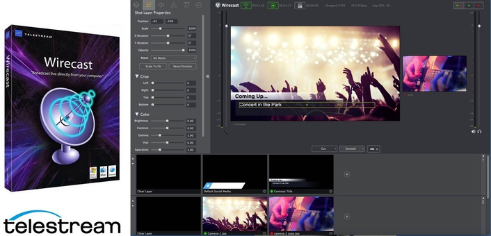 Affordable Live Streaming with Powerful New Production Capabilities