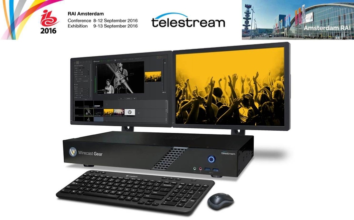 Telestream Announces Wirecast Gear Live Production and Streaming System