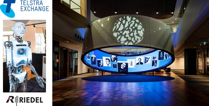 Riedel Artist and Acrobat Intercom Systems Enable Seamless Communications at Telstra Experience Centre