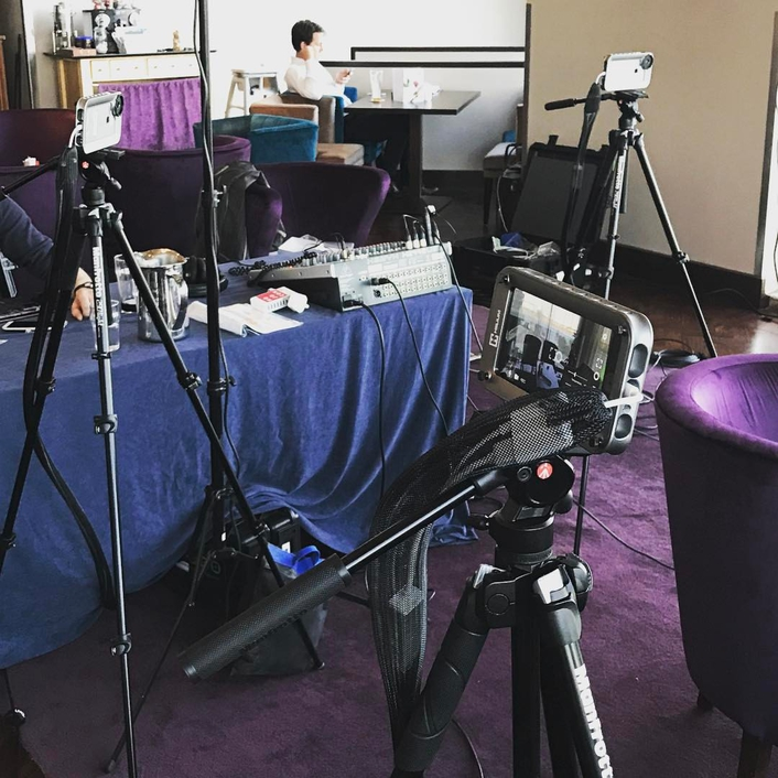 Live X produces iOS streams for Teradek Studio at Mojocon