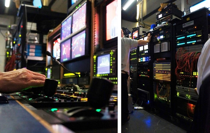 Presteigne provides studio and production facilities for TFI Friday