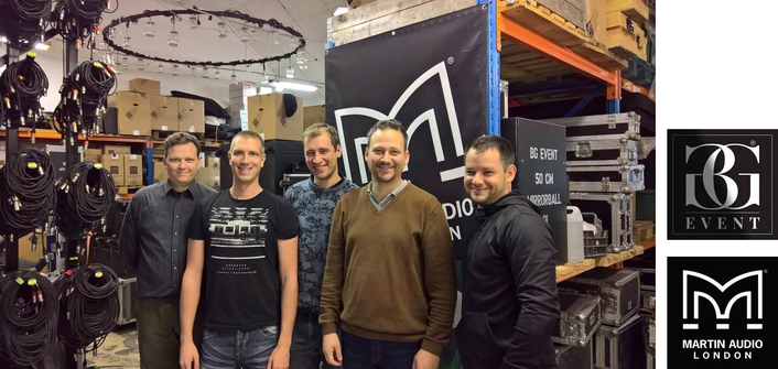 BG EVENT TAKES ON MARTIN AUDIO DISTRIBUTION IN HUNGARY