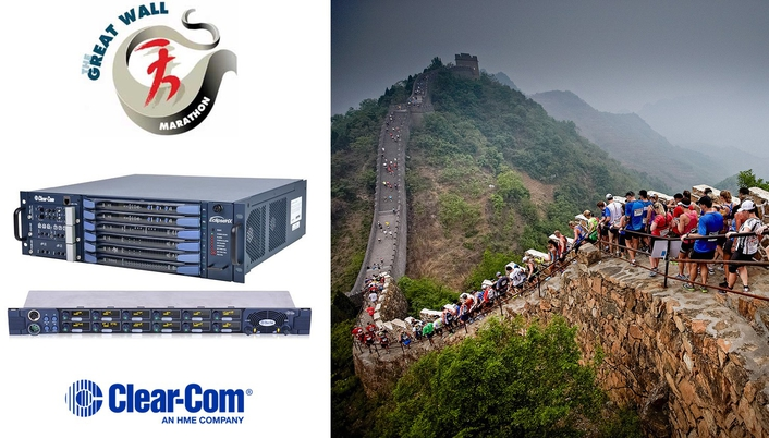 CLEAR-COM'S AGENT-IC GOES THE DISTANCE FOR CHINA'S GREAT WALL MARATHON