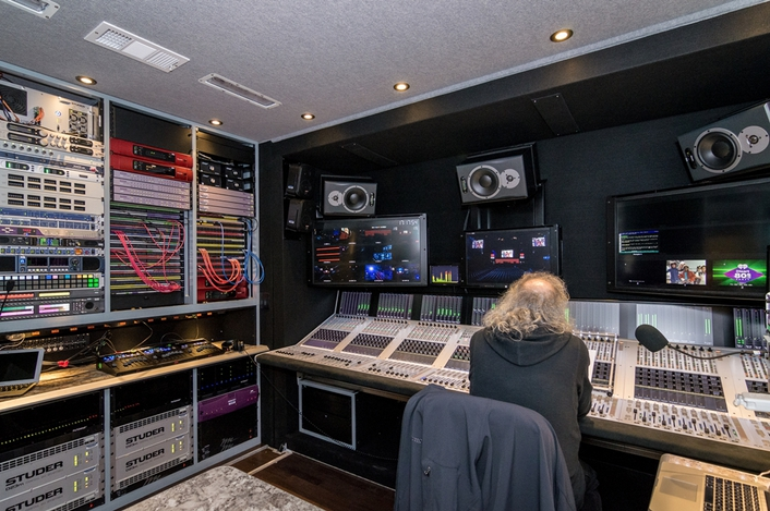 Focusrite RedNet Interfaces Employed in All Mobile Video's New 4K-Capable Zurich Remote Truck