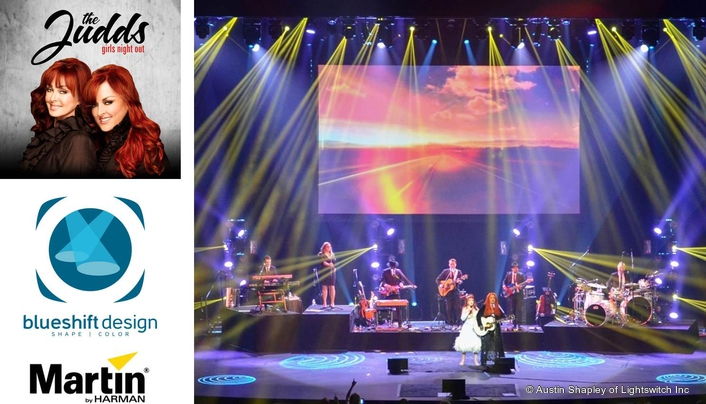 Martin Professional Shines Bright for The Judds' Residency at The Venetian Hotel in Las Vegas