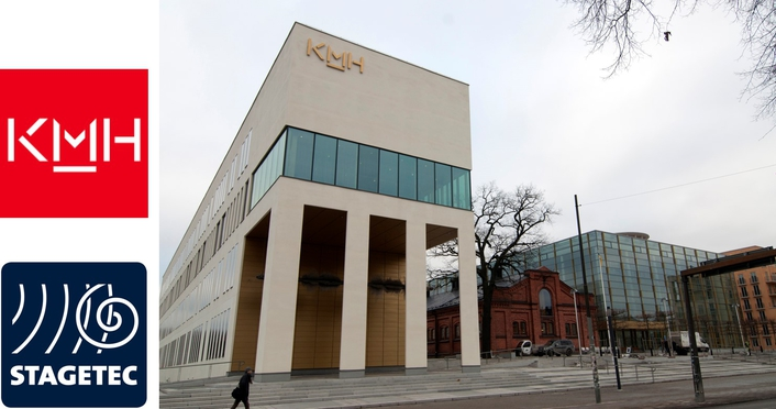 Studying with Stage Tec at the Royal College of Music in Stockholm