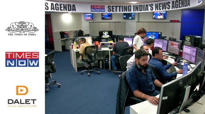 Dalet Accelerates News Delivery for Times Network