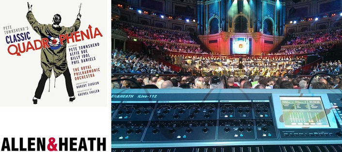 The PA was provided by Capital Sound, and the iLive system comprised two modular iDR10 MixRacks installed on stage and linked using ACE, with an iLive-112 control surface at FOH
