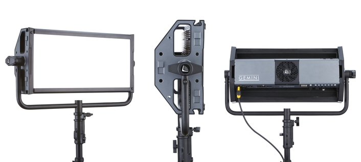 VERSION 2, LEADING U.K. RENTAL HOUSE, ACQUIRES GEMINI 2X1 SOFT PANEL LIGHTS