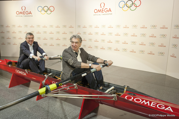IOC and Official Timekeeper OMEGA extend global Olympic partnership to 2032