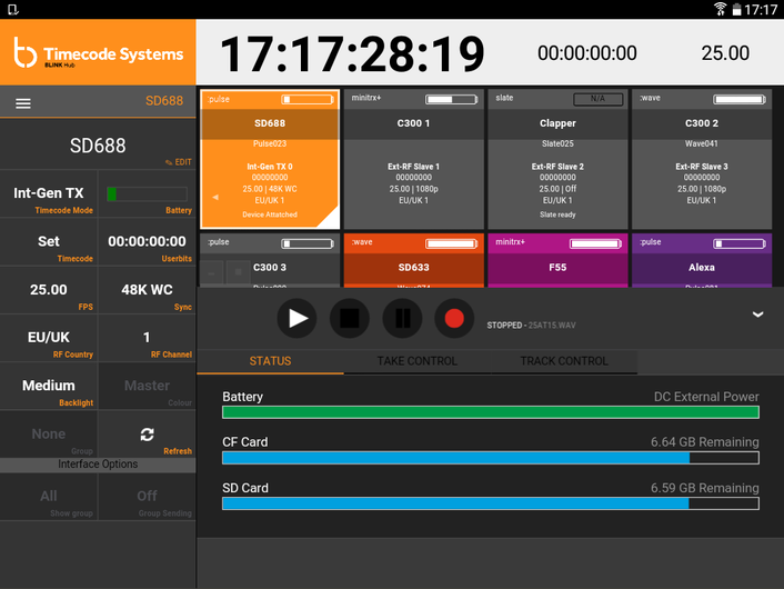 Control Multicamera Shoots From a Single Screen Using Timecode Systems' BLINK Hub App