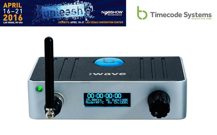 Timecode Systems at the 2016 NAB Show