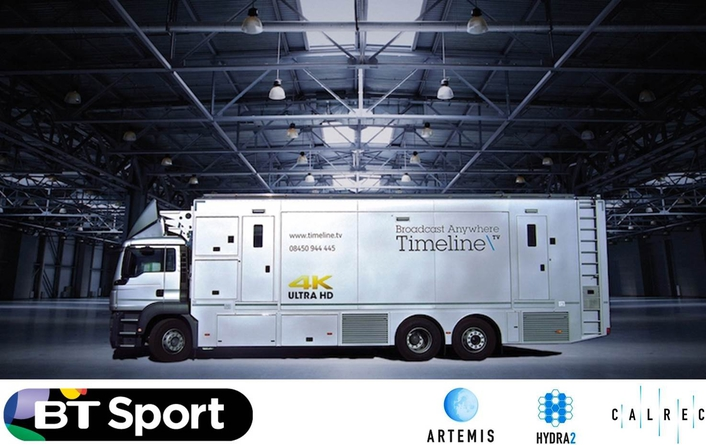 Europe's first UHD OB truck has Calrec on board