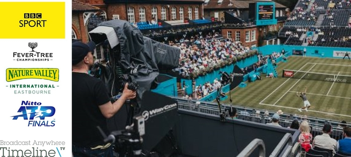 Timeline wins major three-event tennis contract