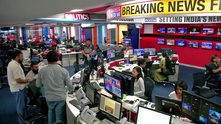 Dalet Galaxy connects multi-site teams with an integrated news production workflow, enabling a first-to-break-news operation for India's largest media conglomerate