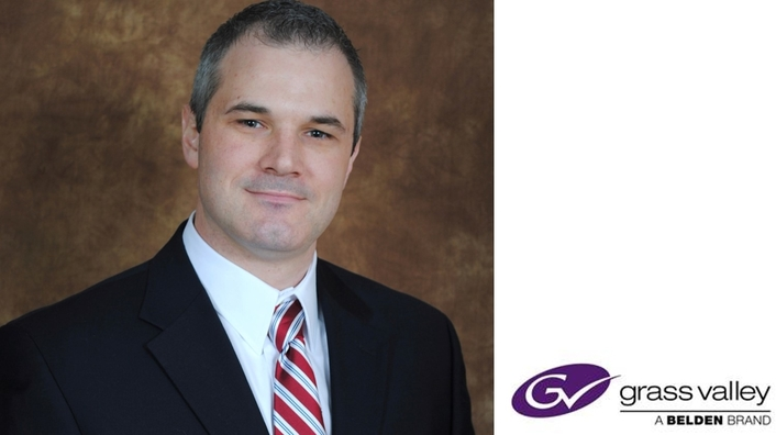 Grass Valley Welcomes Timothy Shoulders as New President