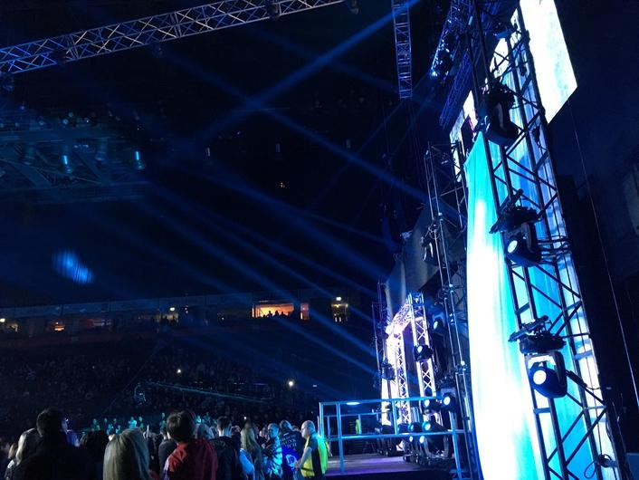 """Elation Lighting Excitement for TNA Wrestling """"MAXIMUM IMPACT 8"""" UK Tour"""