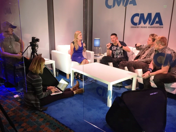 Nashville-based HD truck provider TNDV produced live multi-camera video during the recent CMA Awards, including the Red Carpet, celebrity interviews and backstage action