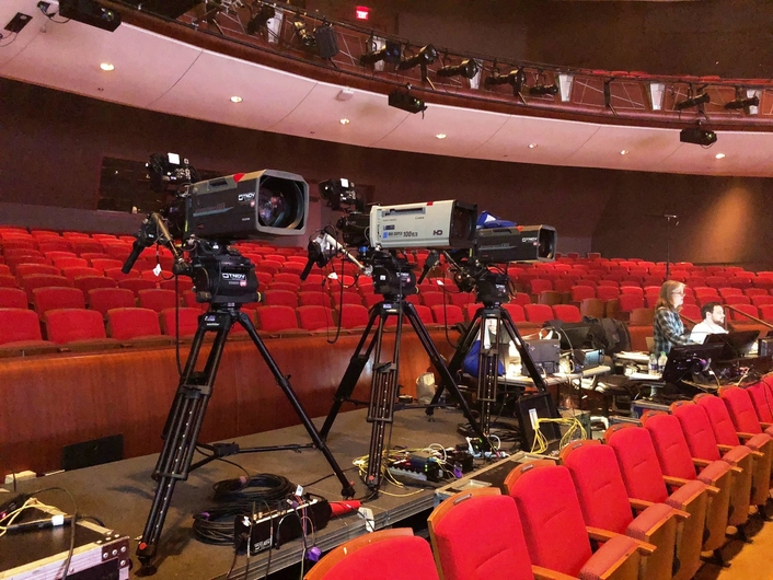 Provides 3G/4K mobile production unit, Exclamation, and skilled technical crew to support  multi-camera production of the prestigious, annual TV awards special