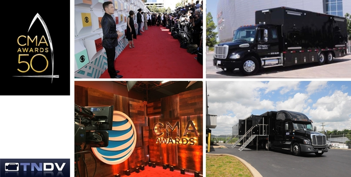TNDV Manages 4K and HD Live TV and Streaming Productions at the 2016 CMA Awards
