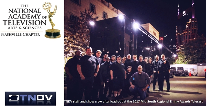 TNDV: Television Wins Five Midsouth Regional Emmy Awards