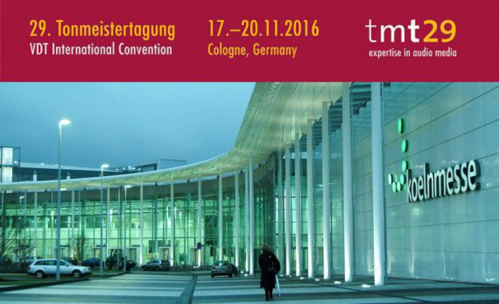 29th Tonmeistertagung: Exciting program, fully booked exhibition