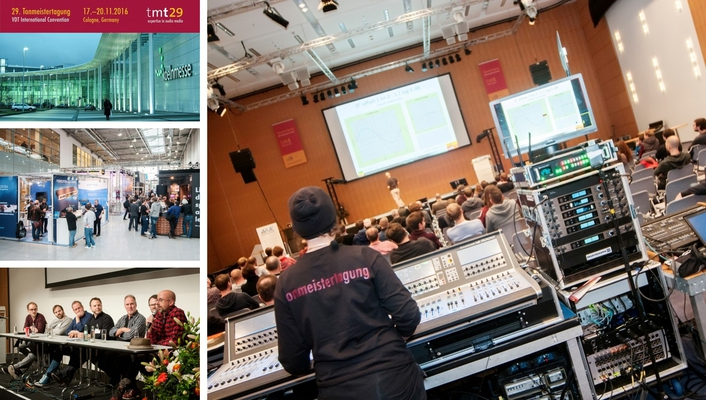 The 29th Tonmeistertagung in Cologne
