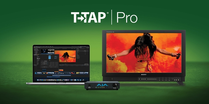 AJA Announces T-TAP Pro