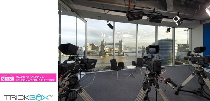 TRICKBOX TV ELECTED TO PROVIDE STUDIO SPACE FOR MAYORAL CANDIDATE INTERVIEWS