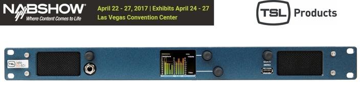 TSL Products Announces New MPA1 Solo SDI Audio Monitor