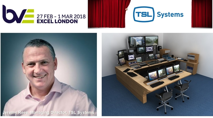 TSL Systems shares expertise in integrated broadcast systems at BVE 2018