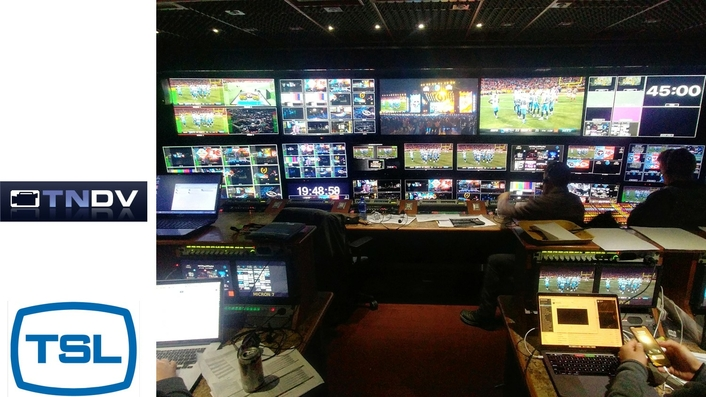 TNDV Television Relies on TSL Products to Upgrade its Broadcast Workflow