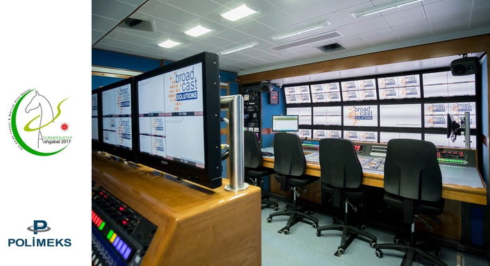 Broadcast Solutions delivers 2 sets of live production units to Turkmenistan Television