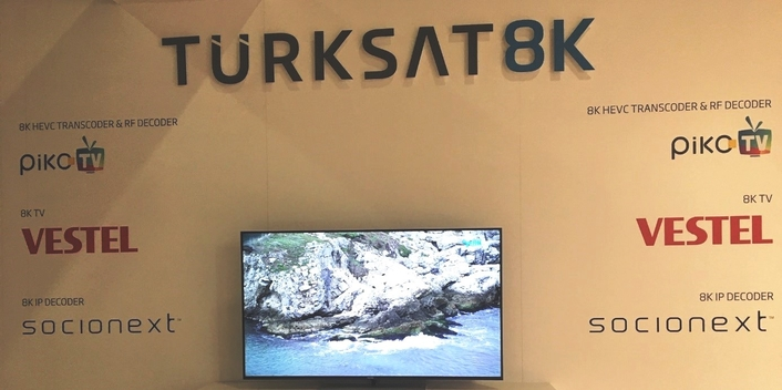 Turksat tests 8K broadcast