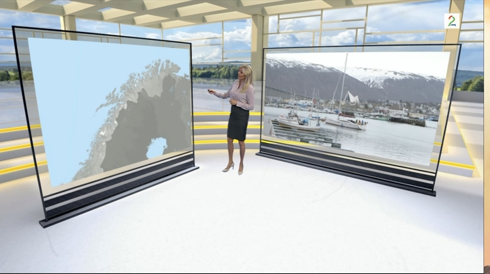 Sixty Delivers Engaging New Weather Studio to Norway's TV 2
