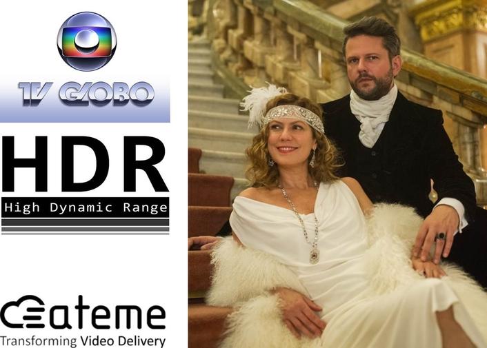 ATEME Powers Globo's 4K HDR VOD Product