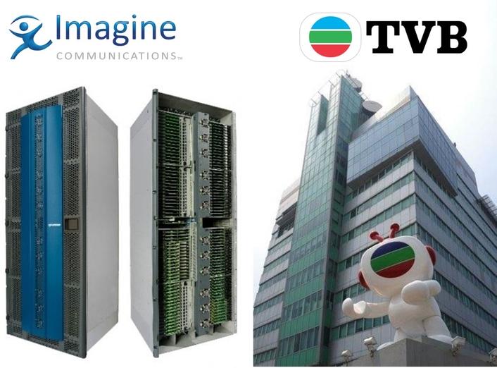 Imagine Communications' Platinum IP3 Router Drives Live UHD production at TVB