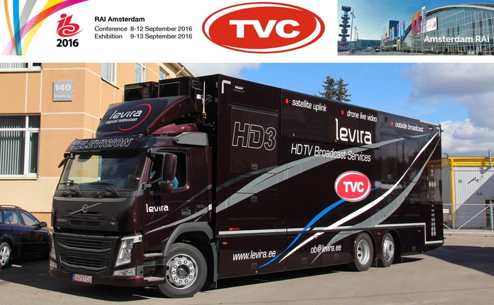 TVC Showcases Levira HD3 OB van at IBC2016