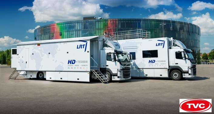 TVC delivers OB trucks to Lithuanian National Radio and Television