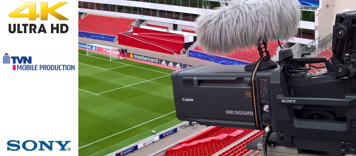 Passed the practical test: TVN relies on Sony equipment for UHD broadcasts