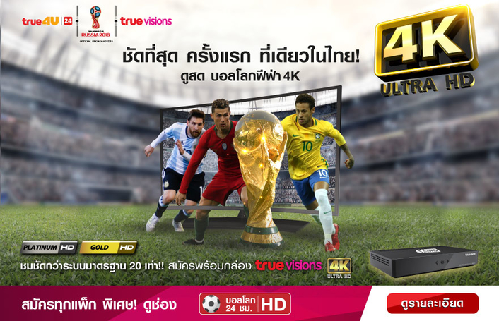 True Visions Delivers Thailand's First 4K UHD Premier Football Event Coverage with Imagine Communications