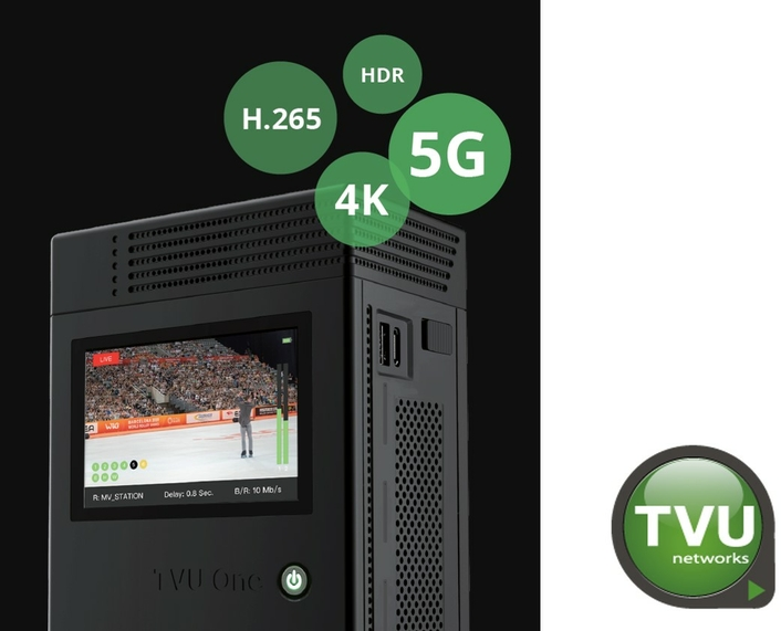 TVU Networks Announces the Immediate Availability  of a Portable Cellular Transmitter with an Integrated 5G Modem