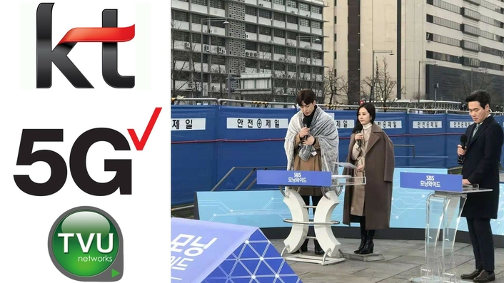 TVU Networks and South Korea's KT Corp. Partner in World's First 5G UHD Broadcast Network