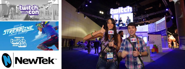 NewTek IP Series Debuts at TwitchCon 2016